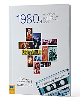 Personalised Music Decade Book - 80s