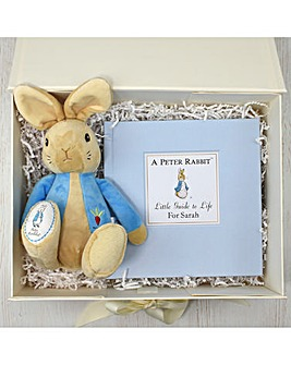 Personalised Peter Rabbit Book Set Book and Plush Gift Set