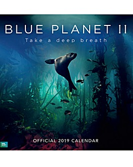 BBC Blue Planet 2019 Square Calendar