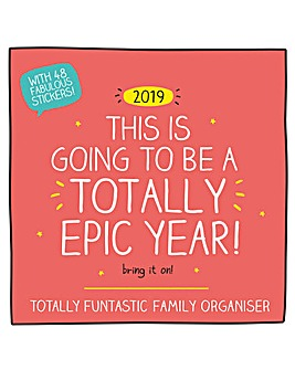 Happy Jackson 2019 Family Organiser