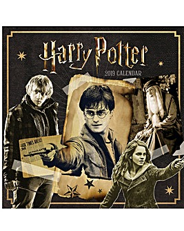 Harry Potter 2019 Square Calendar