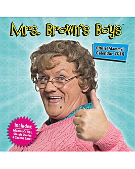 Mrs Brown Boys 2019 Calendar