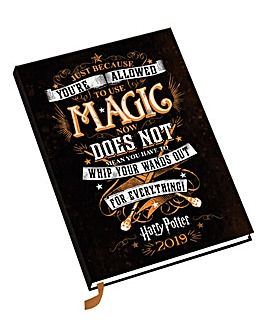 Harry Potter A5 2019 Diary