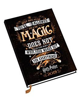 Harry Potter A5 2019 Diary