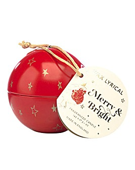 Wax Lyrical Christmas Bauble Candle