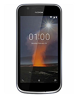 Nokia 1 Mobile Phone Blue