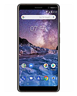 Nokia 7+ Mobile Phone Black