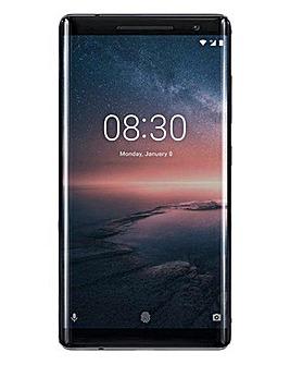 Nokia 8 Sirocco Mobile Phone Black