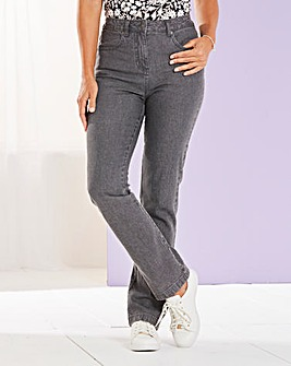 Straight Leg Stretch Jean Short