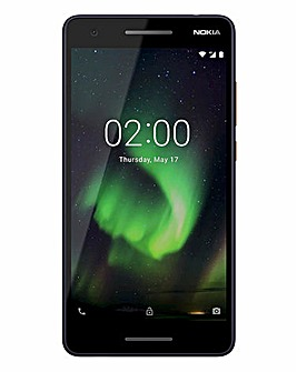 Nokia 2.1 Mobile Phone Blue Copper