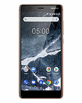 Nokia 5.1 Mobile Phone Copper