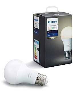 Hue White E27 Single Lamp