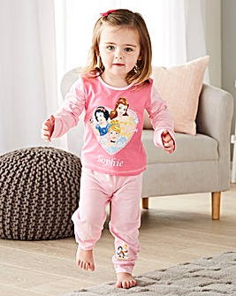 Personalised Disney Princess Pyjamas