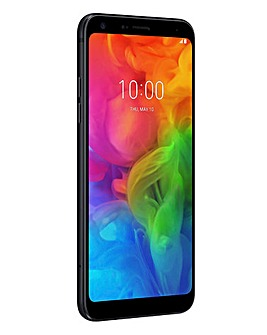 LG Q7 Smartphone Black