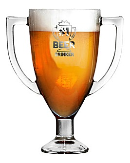 Trophy Sporting Pint Glass