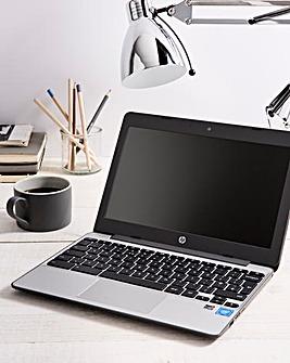 HP Chromebook 11-v001na Ash Grey