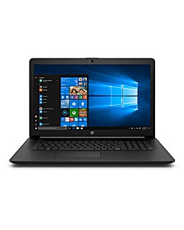HP Laptop 17-ca0007na Jet Black