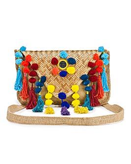 Glamorous Pom Pom Bag