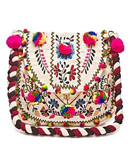 Glamorous Embroidered Bag