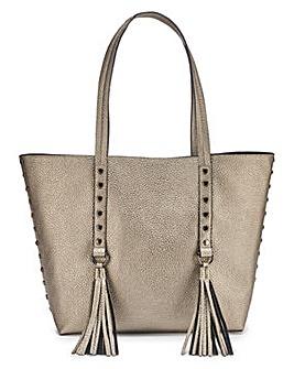Joanna Hope Metallic Shopper Bag