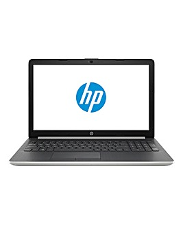 HP Laptop 15-da0056na Natural Silver