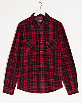 Red Check Fleece Shirt