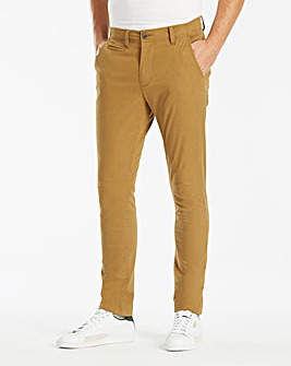 Tobacco Stretch Skinny Chino 33in