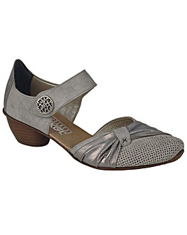Rieker Precious Womens Open Court Shoes