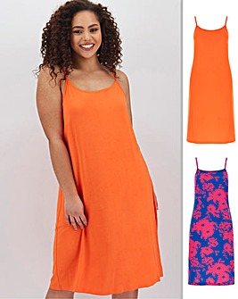 2 Pack Cami Dresses