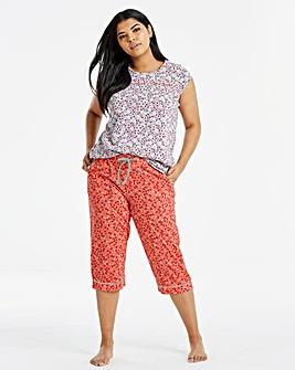 Joe Browns Print Crop PJ Bottoms