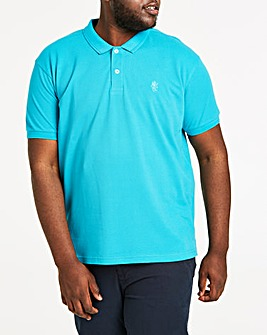 Peacock Short Sleeve Embroid Polo