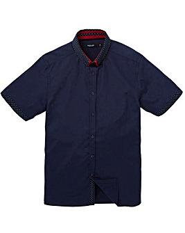 Black Label Spot Trim Shirt Regular