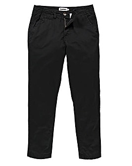 Capsule Black Basic Chino 31In Leg Length