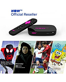 NOW TV 4K SMART BOX  inc 4 NOW TV PASSES