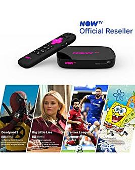 NOW TV 4K SMART BOX  inc 4 NOW TV PASSES