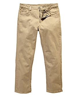 Gaberdine Stone Jeans 35 in