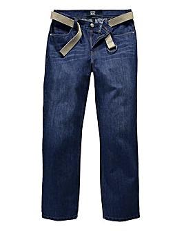 UNION BLUES Preston Loose Fit Jeans 33in