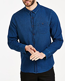 Peter Werth Linen Denim Shirt Regular