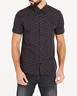Ben Sherman Shadow Spot Shirt Long