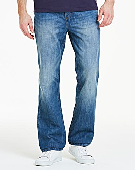 Joe Browns Mid Wash Bootcut Jean (Belt Not Included)