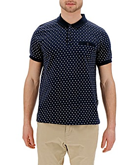 Peter Werth Geo Print Polo Long