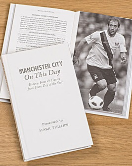 Personalised On This Day Football Book
