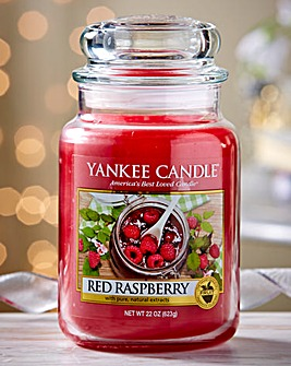 Yankee Candle Red Raspberry Large Candle