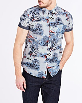Joe Browns Flamingo Shirt Long