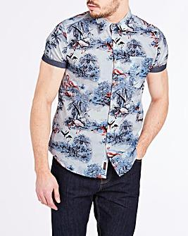 Joe Browns Flamingo Shirt Long