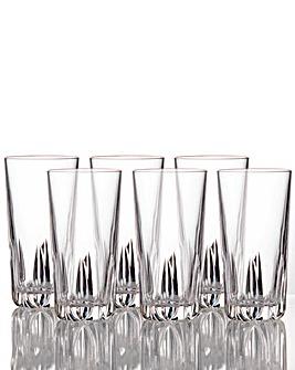 Royal Doulton Set Of 6 Crystal Glasses