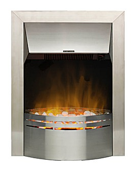 Dimplex Dakota Brushed Stainless Steel Inset Fire