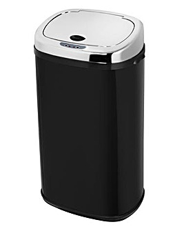 Morphy Richards 42 Litre Square Sensor Bin Black