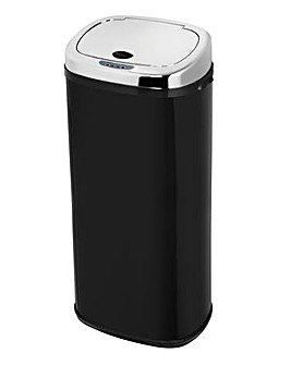 Morphy Richards 50 Litre Square Sensor Bin Black
