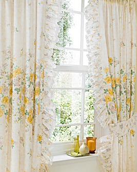 Juliette Pencil Pleat Curtains & Tieback